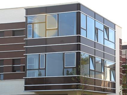 Muro cortina de aluminio carpinter a de aluminio tipos - Tipos de muros ...